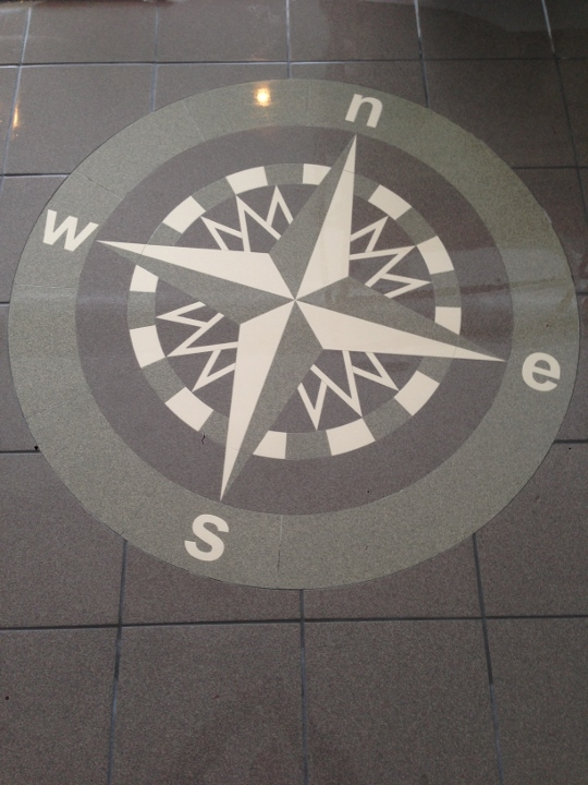 This image shows tile installation at True North Gas Stations. This tile was installed by Youngstown Tile & Terrazzo.